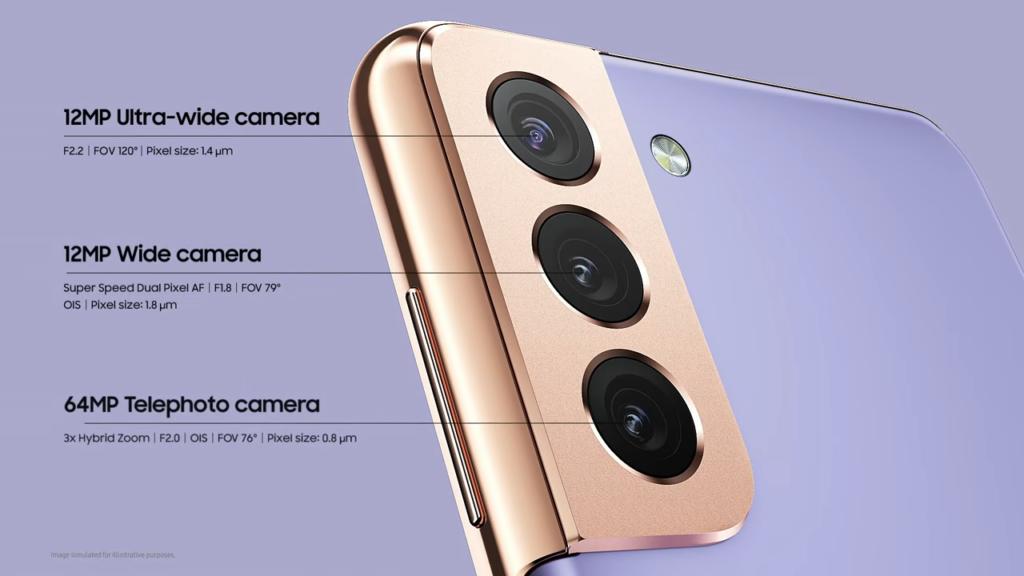 كاميرات أجهزة اس 21 واس 21 بلس
